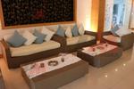 Дизайнерски дивани от ратан за заведения