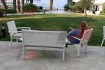Ратанови луксозни дивани за заведения
