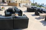 Ратанова мебел за плажа