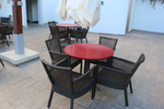 Ратанова стилна мебел за плажа