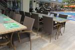 Ратанова мебелировка за дома и заведението на плажните курорти