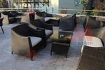 Удобни дивани от ратан за заведения