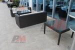 Топ качество на маси и столове от черен ратан