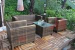 Красиви дивани от ратан