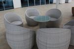 Удобни сепарета от ратан за заведения