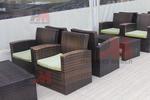 Ратанови мебели в различни цветове и плетки
