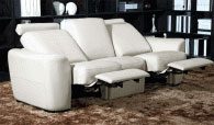Модерен тройка диван 223/101/89см