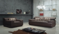 Стилен диван двойка 180/112/64-89см