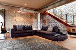 роскошный угловой диван