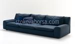 πολυτελή καναπέ με σαλόνι