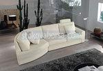 πολυτέλεια καναπές γωνία